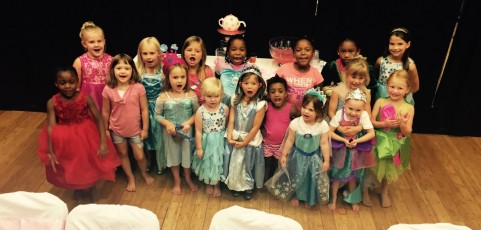 Princess Mini Camp – Royal Tea