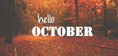 Fall is here! October Newsletter